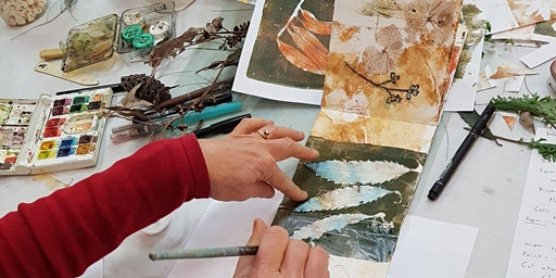 Mixed Media Nature Sketchbook Workshop