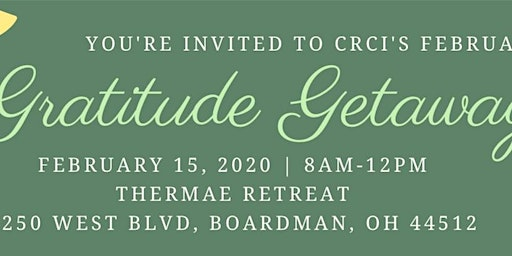 Gratitude Getaway with the Mahoning Valley Wellness Council