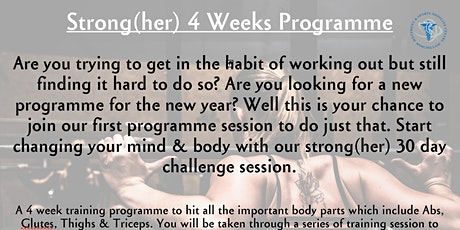 Strong(her) Programme tickets