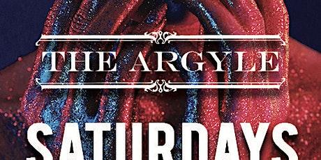 Argyle Saturdays at The Argyle Free Guestlist - 3/07/2020 tickets