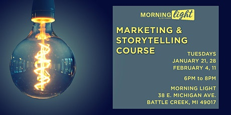 Morning Light - Marketing & Storytelling Course tickets