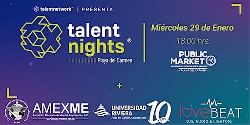 Talent Night Playa del Carmen Enero 2020