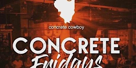 Concrete Fridays at Concrete Cowboy Free Guestlist - 3/20/2020 tickets