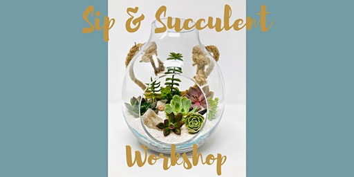 Sip & Succulent Workshop