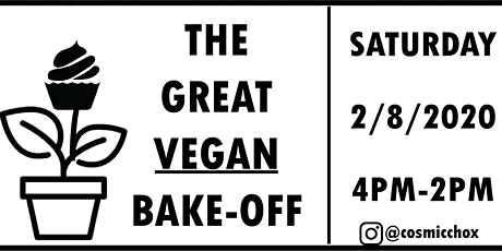 The Great Vegan Bake-Off tickets