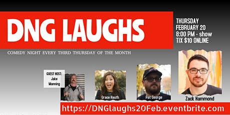 DNG Laughs - Third Thursdays - FEBRUARY tickets