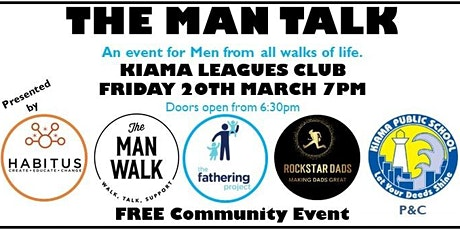 The Man Talk tickets