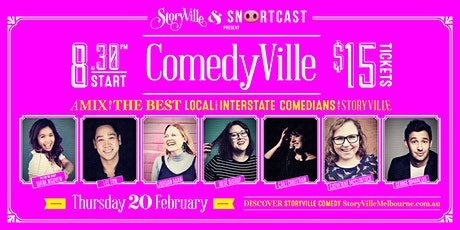 ComedyVille - Week 2 tickets