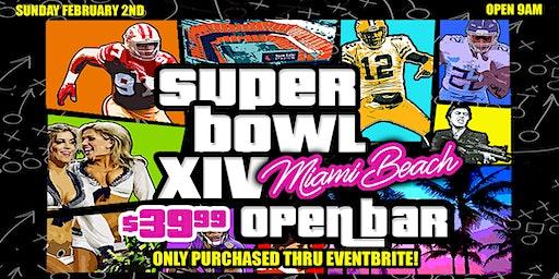 Super Bowl 54 at Manhattan Beach Baja Sharkeez