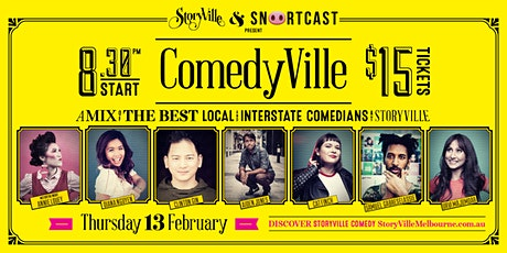 ComedyVille - Week 1 tickets
