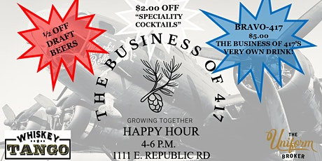 HAPPY HOUR w/ The Business of 417 tickets