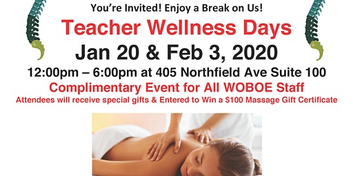 West Orange Teacher Wellness Days
