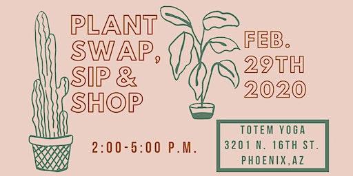 Plant Swap, Sip & Shop