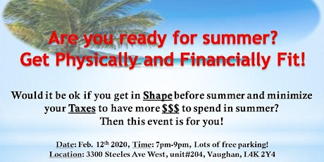 Taxes, Health And Wealth  Seminar  tickets