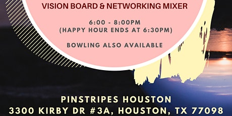 ColorComm Houston: Design Your 2020! Networking & Vision Board Mixer tickets