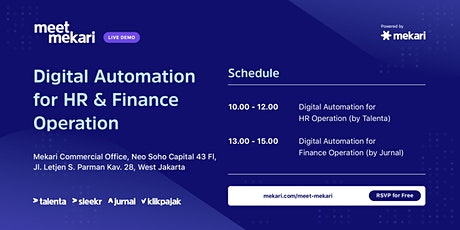 Digital Automation fo HR & Finance Operations tickets