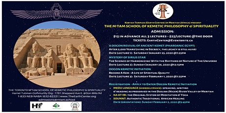 The M'TAM School of Kemetic Philosophy & Spirituality Lecture Series tickets