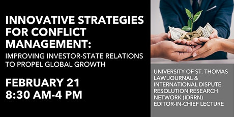 UST Law Journal EIC Lecture: Innovative Strategies for Conflict Management  tickets