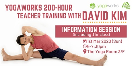 YogaWorks 200-Hour Teacher Training - Information Session with David Kim tickets