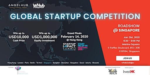 Global Startup Competition - Singapore roadshow - AngelHub & WHub