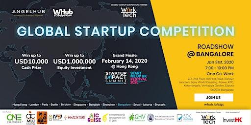 Global Startup Competition - Bangalore roadshow - AngelHub & WHub
