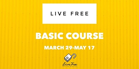 Live Free Basic Course tickets