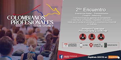 2do Encuentro de Colombianos Profesionales en Sydney entradas
