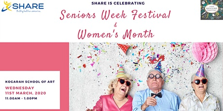 Morning Tea Celebrating Senior Week and International Women Day tickets