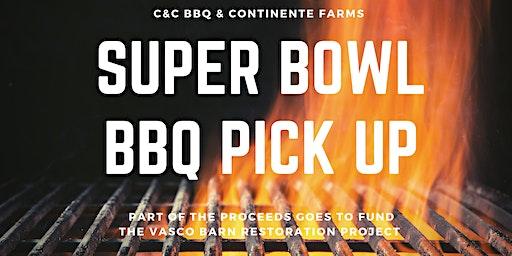 C&C BBQ Super Bowl BBQ Pick Up