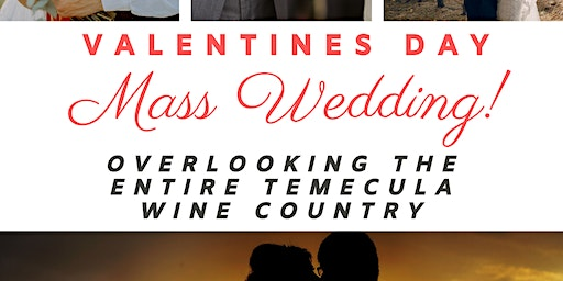 Valentines Day Mass Wedding