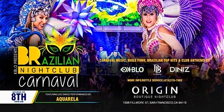 CARNAVAL @THE BRAZILIAN NIGHTCLUB SAN FRANCISCO tickets