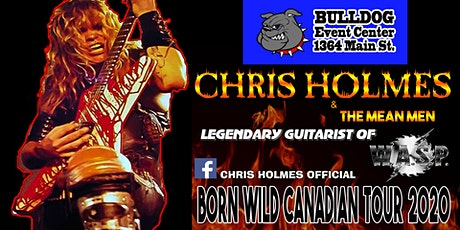 Chris Holmes and The Mean Men tickets