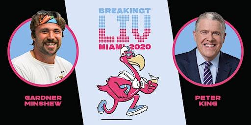 BreakingT Presents: Beers & Football With Gardner Minshew and Peter King
