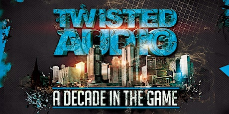 Twisted Audio 10 - A decade in the game tickets