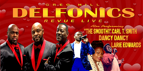 The Delfonics Revue Live Up Close & Personal tickets
