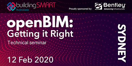 openBIM: Getting it Right Technical seminar (Sydney) tickets