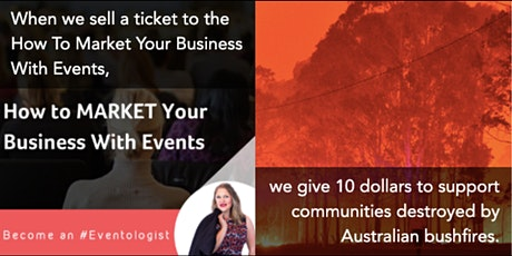 How to MARKET Your Business With Events tickets