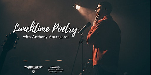 Lunchtime Poetry with Anthony Anaxagorou