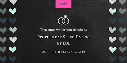 Propose Day Speed Dating Noida feb 8