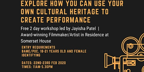 Explore how you can use your own cultural heritage to create performance tickets