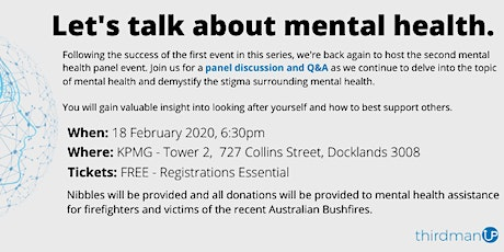Let's Talk About Mental Health - Volume 2 tickets