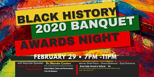 2020 BLACK HISTORY MONTH BANQUET & AWARDS  NIGHT