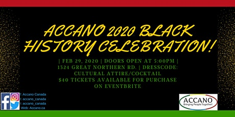 Black History Month Celebration 2020 tickets
