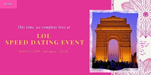 LOL Speed Dating DEL Jan 25
