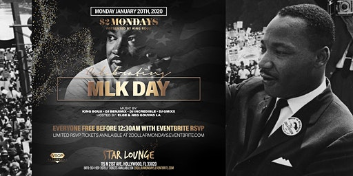 $2 Mondays MLK Day RSVP