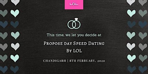 Propose Day Speed Dating CHANDIGARH Feb 8