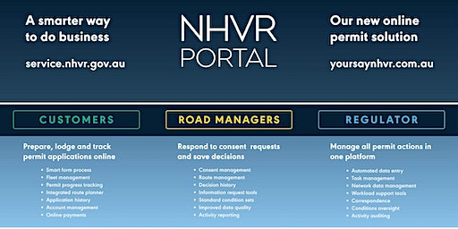 Parramatta NSW - NHVR Portal Access Permits Customer Essentials Training (28 January 2020, 1.00pm to 4.00pm AEDT)