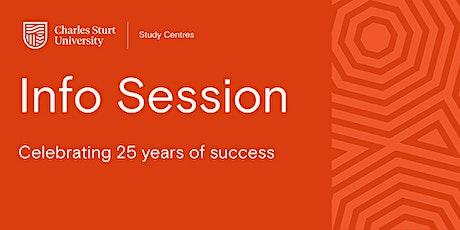 Charles Sturt Study Centres Brisbane, Information Session tickets
