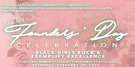 112 Founders' Day Celebration - Black Girls Rock and Exemplify Excellence tickets