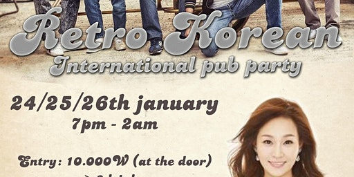 Retro Korean Night! Pajeon and Makoli Party (Gangnam)